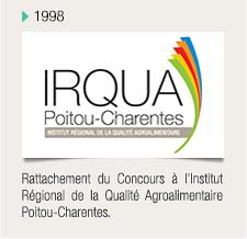 Rattachement du Concours à l'Institut Régional de la Qualité Agroalimentaire Poitou-Charentes.