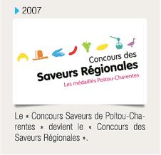 Le « Concours Saveurs de Poitou-Charentes » devient le « Concours des Saveurs Régionales »